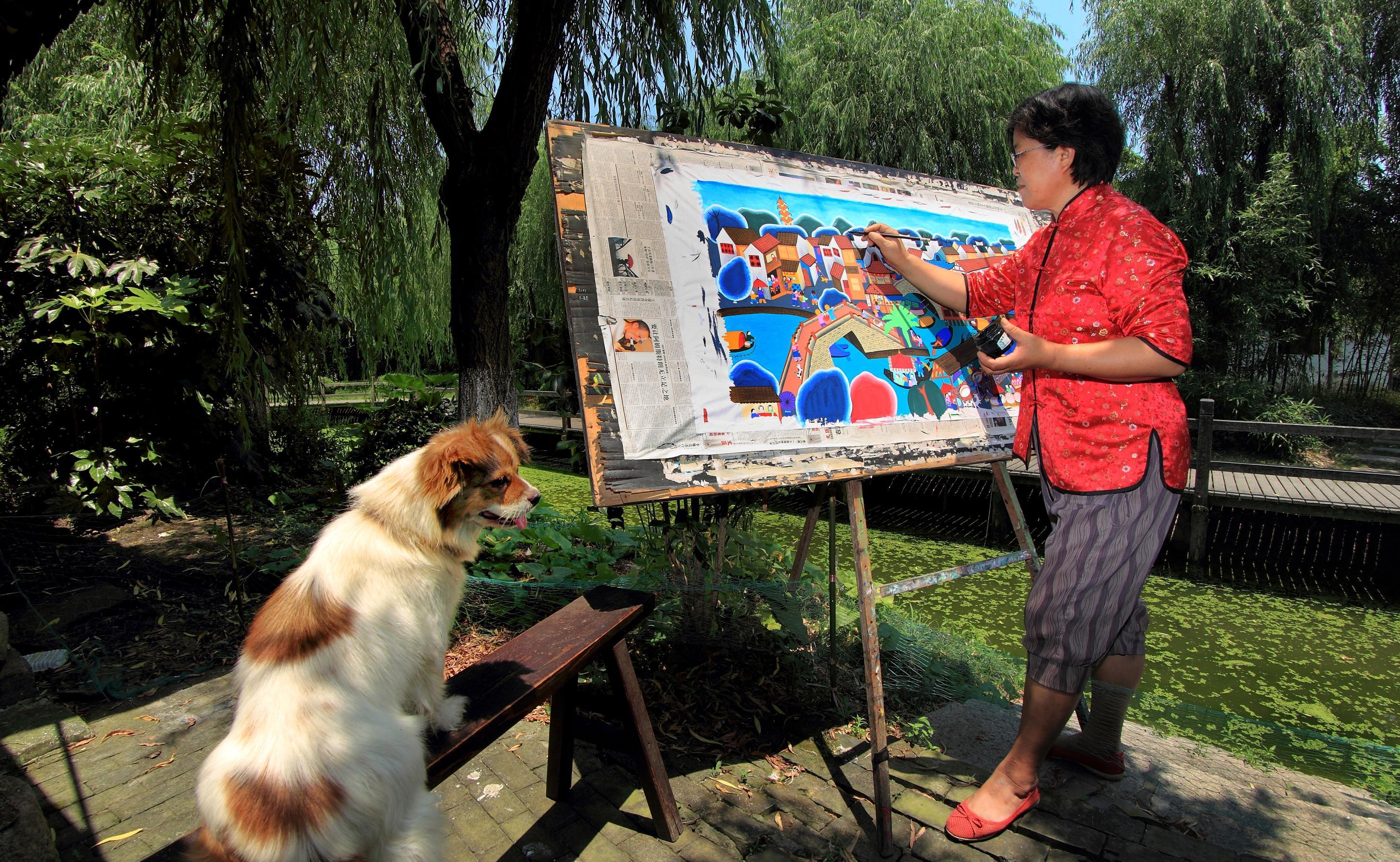 中国农民画村文化创意产业园区